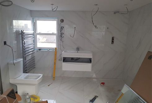 bathroom renovation, tiling,plumbing and sanitary wares services