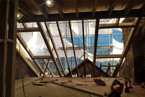 Loft conversion ideas and windows roof ceiling