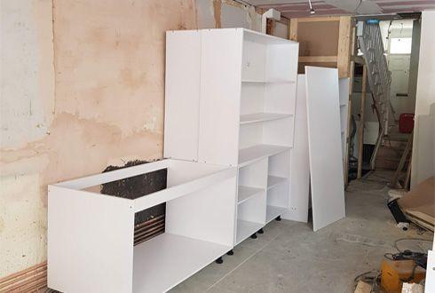 new kitchen supply and renovation installation